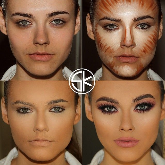 Collection Contouring Steps Pictures - Cerene