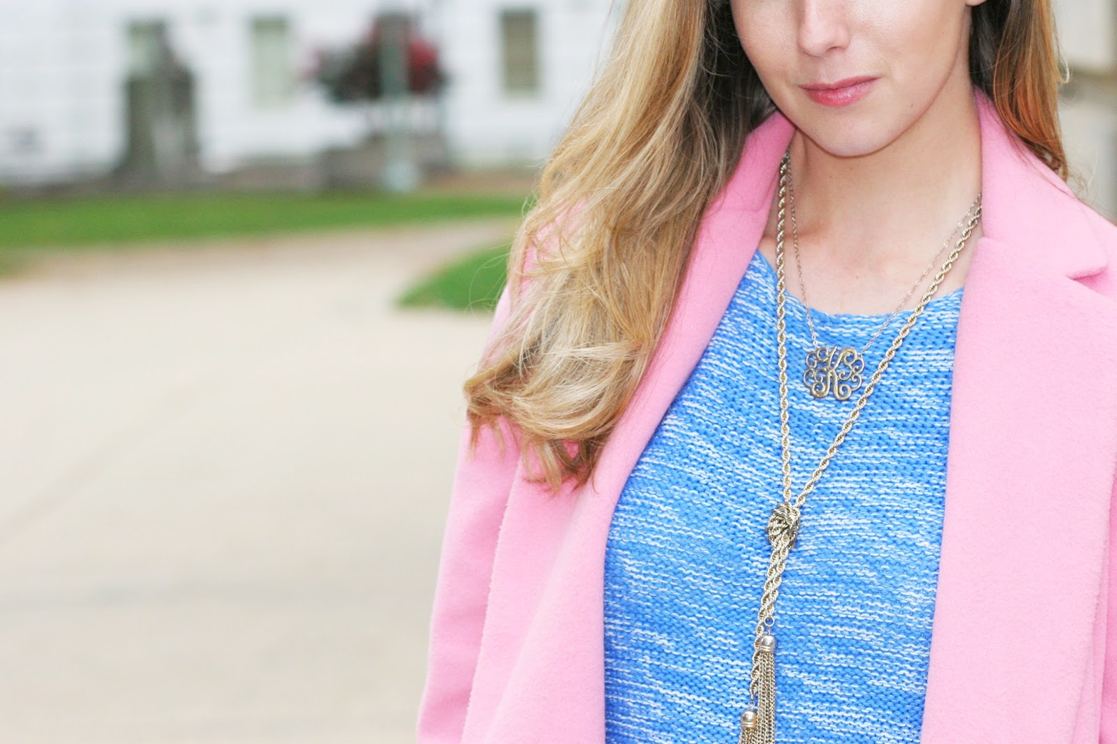 monogram-and-gold-tassel-necklace-layers