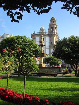 Sanctuary of the Pilgrim Virgin in Pontevedra