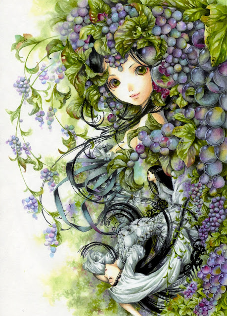 anime personification grapes