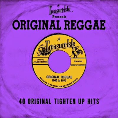 TREASURE ISLE PRESENTS ORIGINAL REGGAE - 40 Original Tighten Up Hits - 1968 to 1973