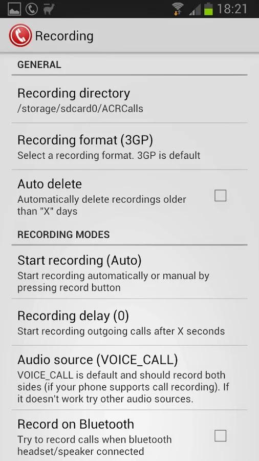 Call Recorder - ACR Premium v8.6