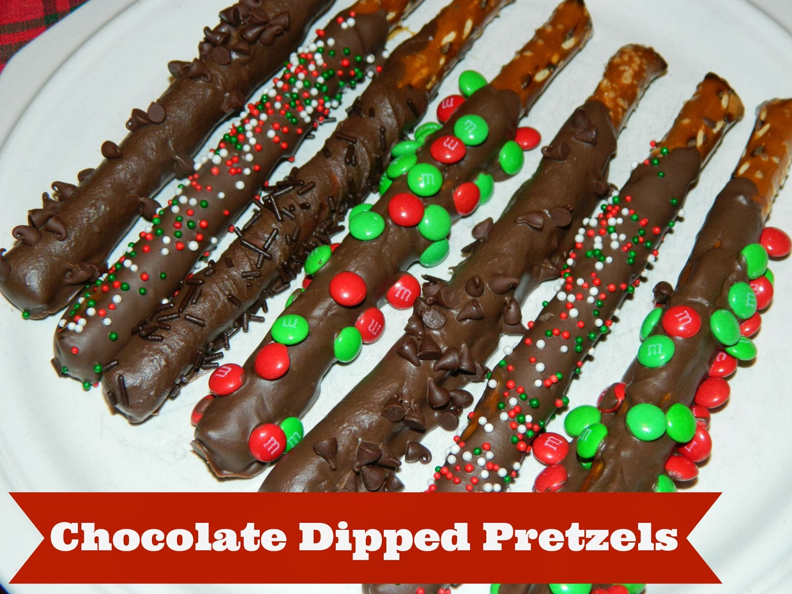 ke chocolate covered pretzels with almond bark
