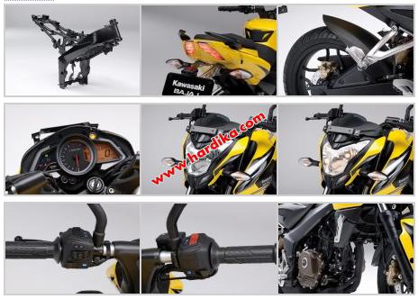 Dan inilah Kumpulan Koleksi Foto Kawasaki Bajaj Pulsar 200NS Terbaru