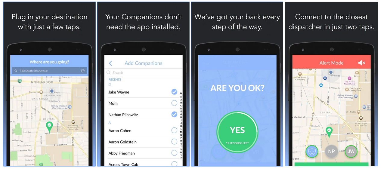 Free Virtual Security Guard Companion App Android And iOS