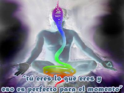 """""""Tú eres lo que eres y eso es perfecto para el momento""""."""
