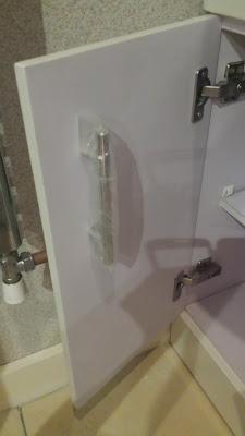 Armario del cuarto de baño por dentro