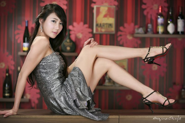 Hot Korea Model Han Chae I Photo Gallery