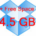 Dropbox gives 4.5 GB Extra Space During Beta Period
