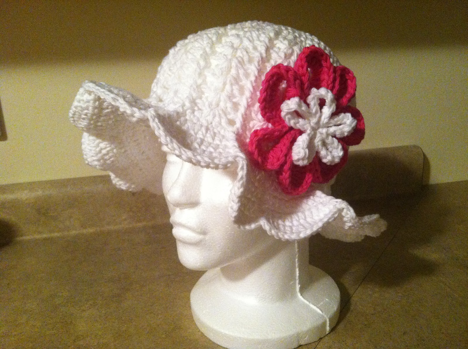 Crochet for Cancer: Chemo Hat & Flower Patterns