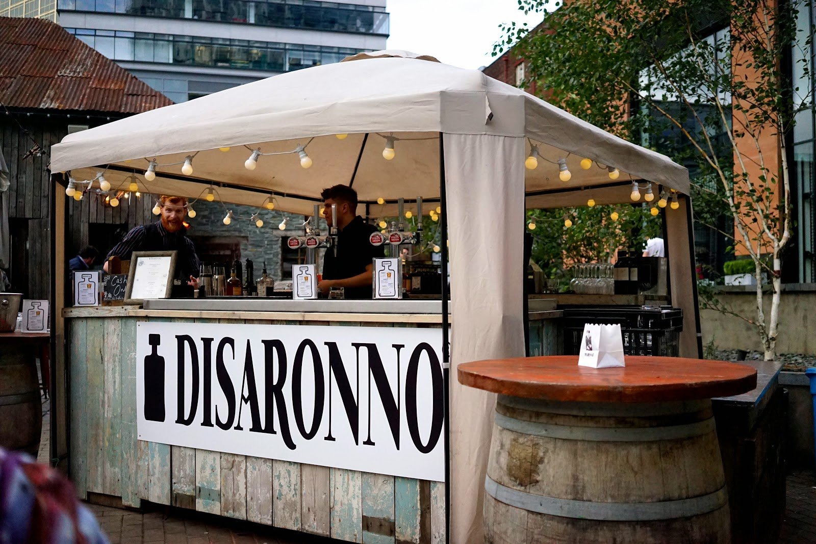 Disaronno Terrace Manchester