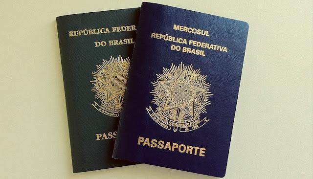Passaporte para viajar para a Califórnia