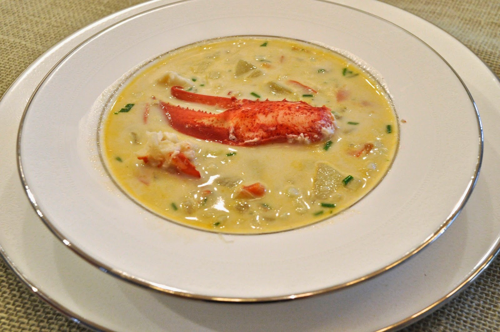 Lobster Chowder Recipe Dishmaps