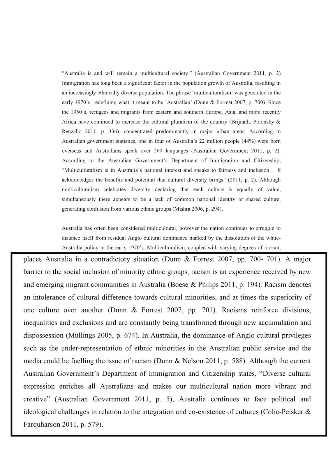 ethnic challenge essay Women affected by compound discrimination may find that there are few avenues of challenge: or ethnic groups may wish to challenge certain aspects of.