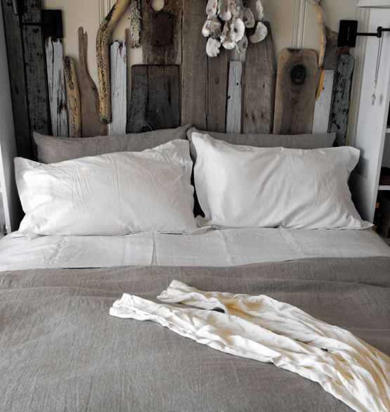 Check out my salvaged wood headboard and other diy for Cool diy headboards