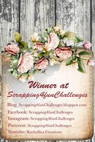 """Winner Scrapping4fun op 25-05 2020 (#166) """"Zusjes kerst"""""""