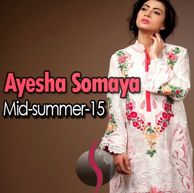 Midsummer Dream | Ayesha Somaya Summer 2015 Dresses