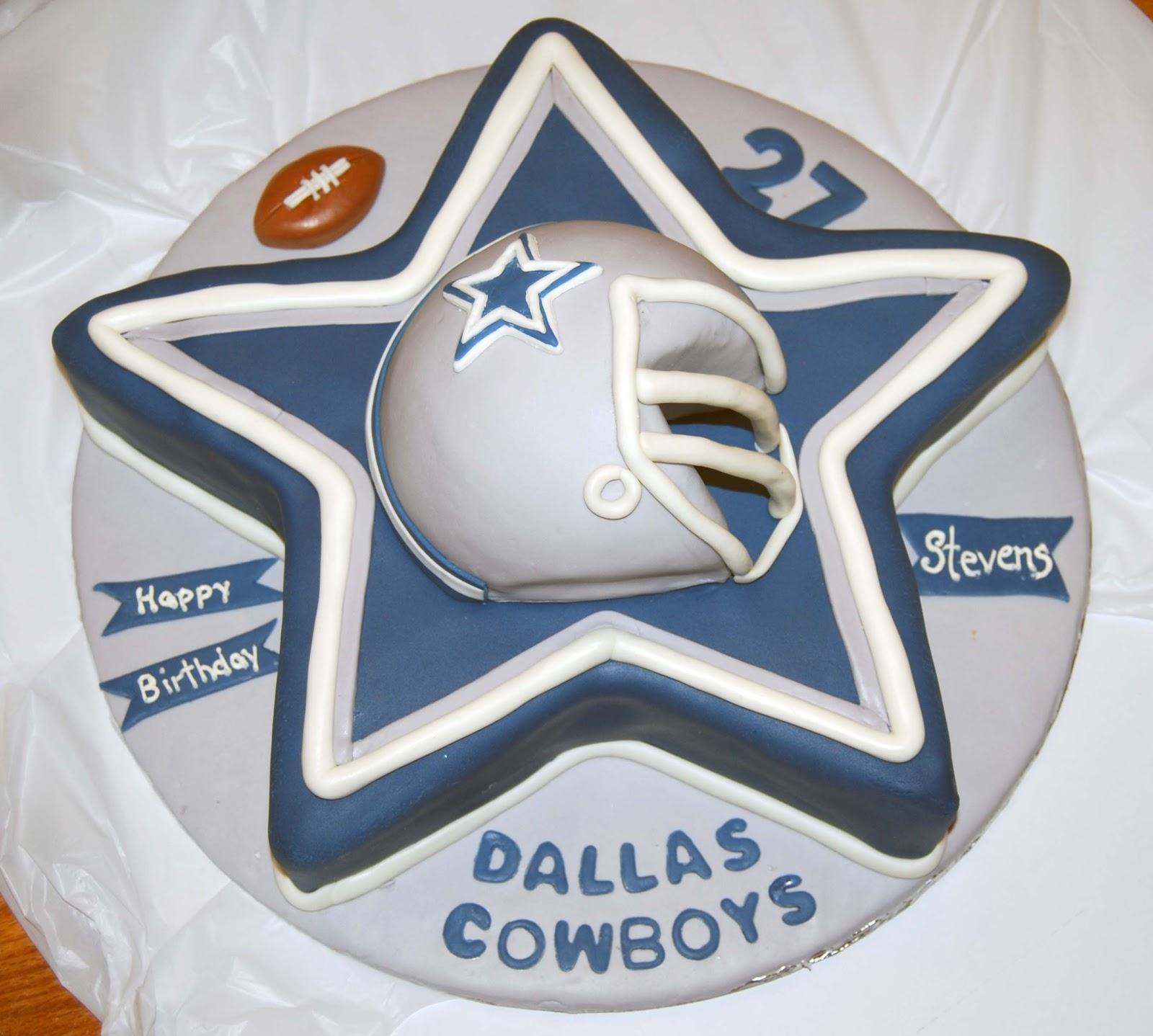 Leelees Cakeabilities Dallas Cowboys Cake