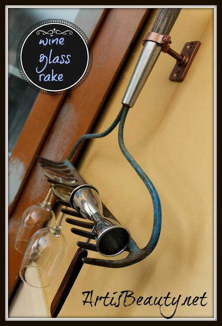 wine_glass_holder_from_vintage_rake