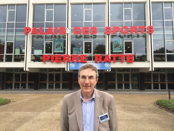 Philippe Dornbusch représentant le Club d'échecs de Vincennes et Directeur du site Echecs & Strategy - Photo © Chess & Strategy