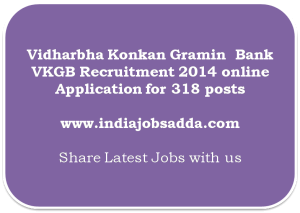 Vidharbha Konkan Gramin Bank Recruitment