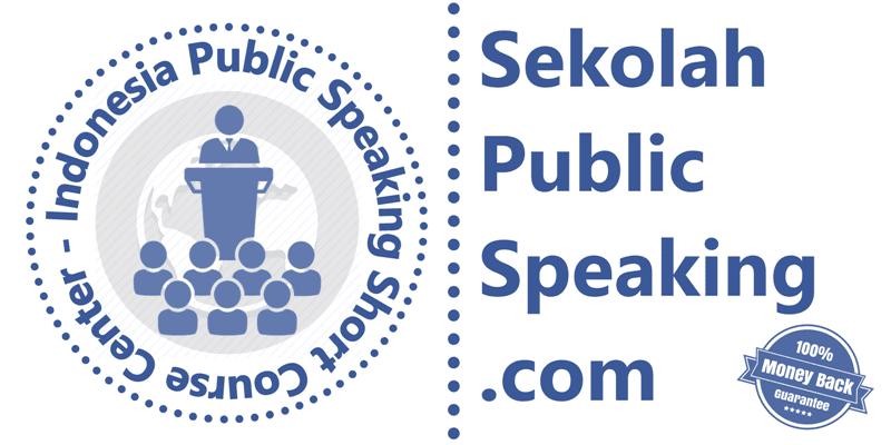 Pelatihan/Training Kursus/Sekolah Public Speaking Jakarta Bergaransi
