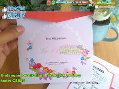 Undangan Pernikahan Berbentuk Amplop