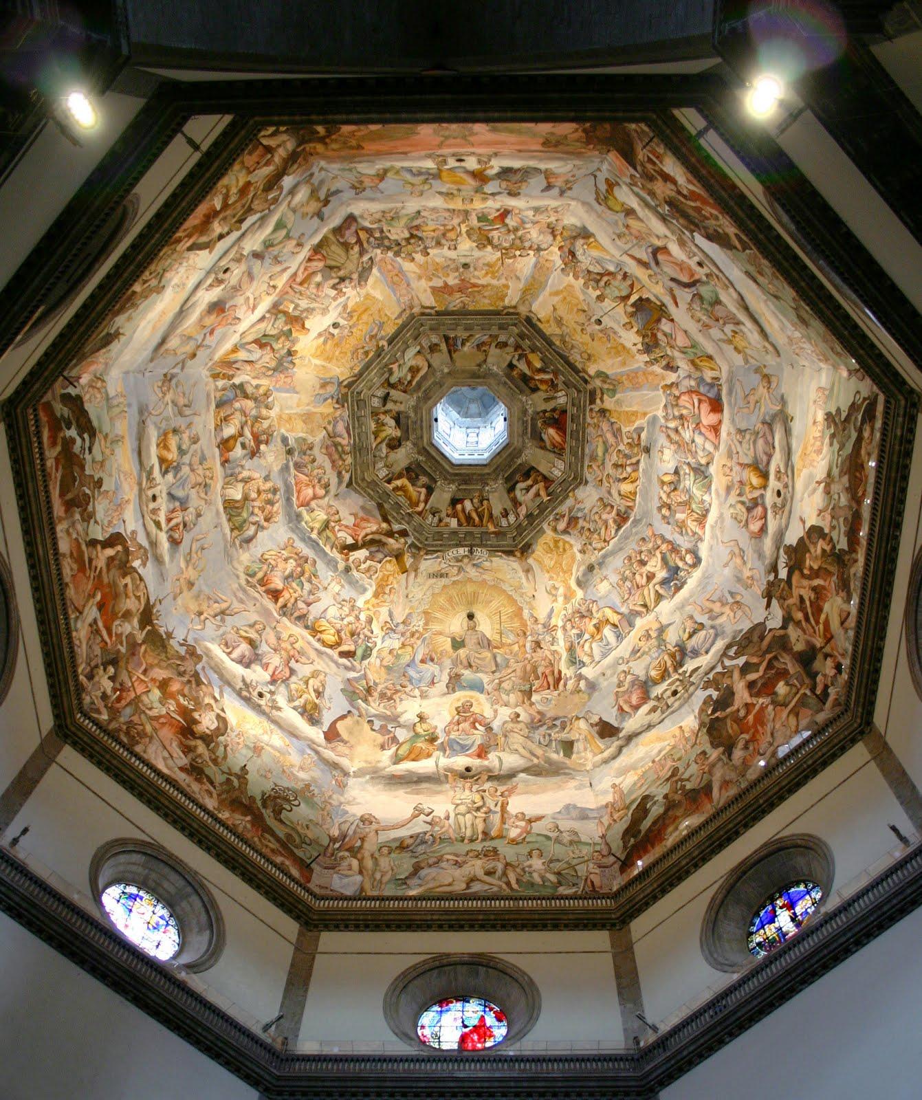 Todo arte arquitectura italiana del quattrocento filippo for Interior iglesia san lorenzo brunelleschi