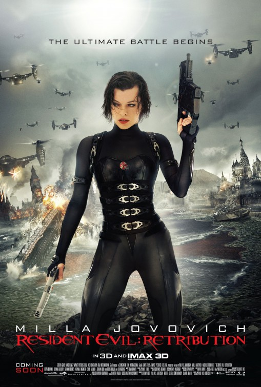 Resident Evil Retribution movie poster