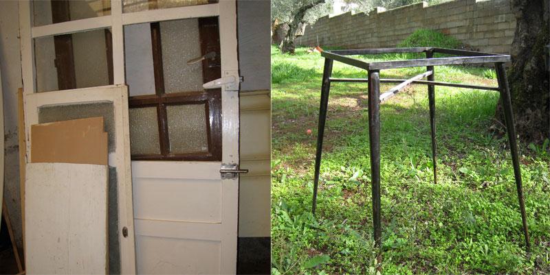 Readapta 2.0: Mesa con puerta
