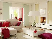 beyaz-pembe-dekorasyon-ev