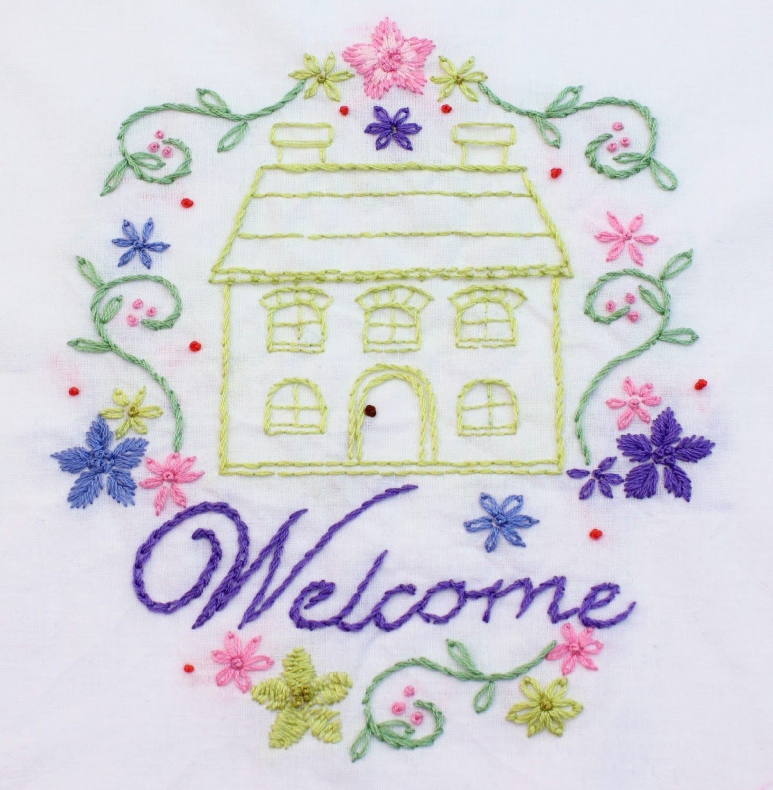Big b home sweet home stitching complete for Home sweet home designs