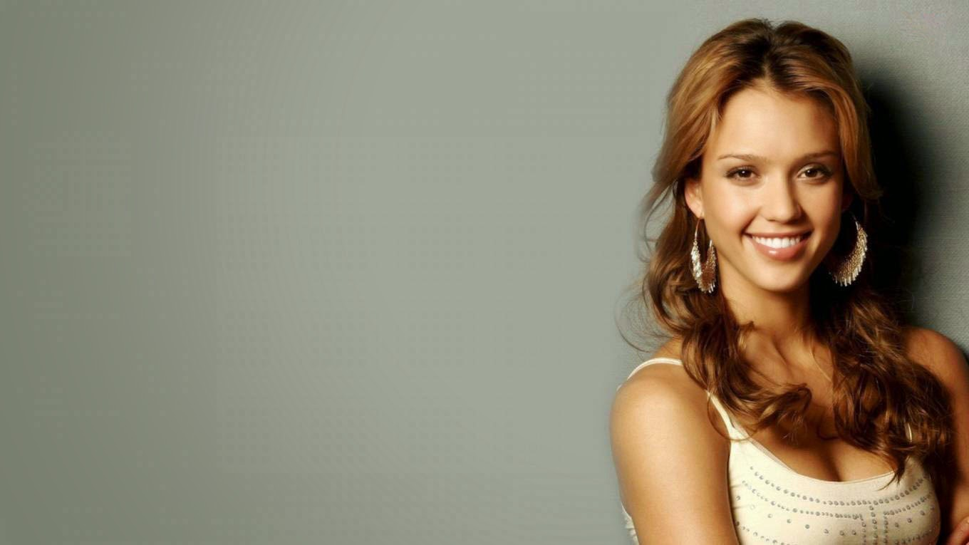 Jessica alba cute smile best super wallpaper