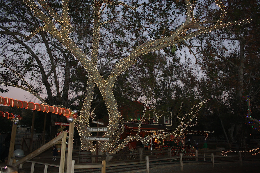Things to Do at Irvine Park Railroad Christmas Train - Any Tots
