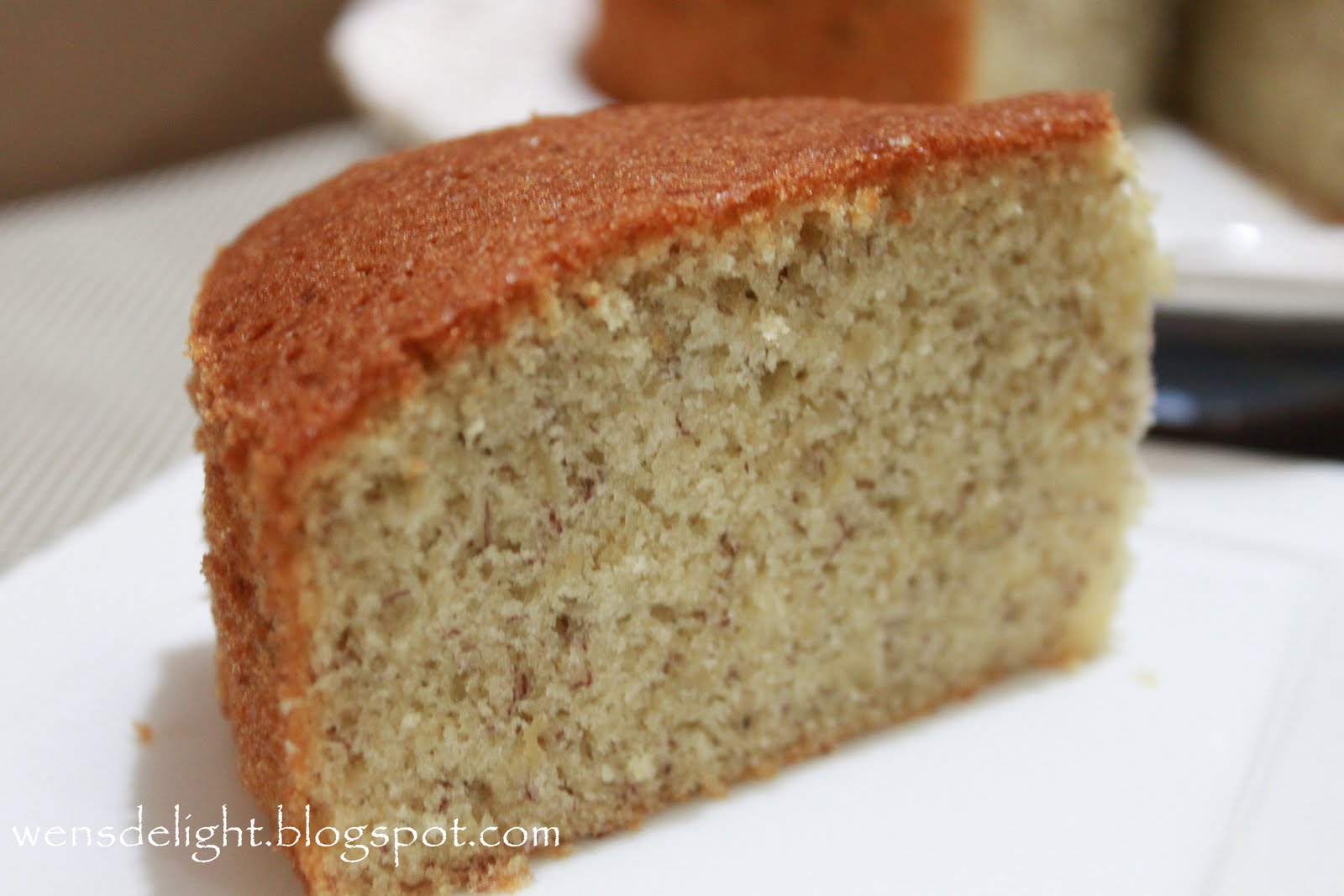 Spongy Banana Cake Recipe
