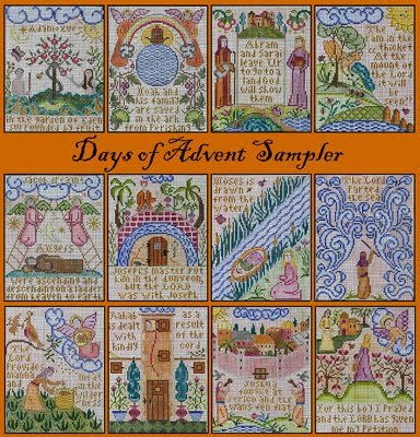 Days of Advent Sampler