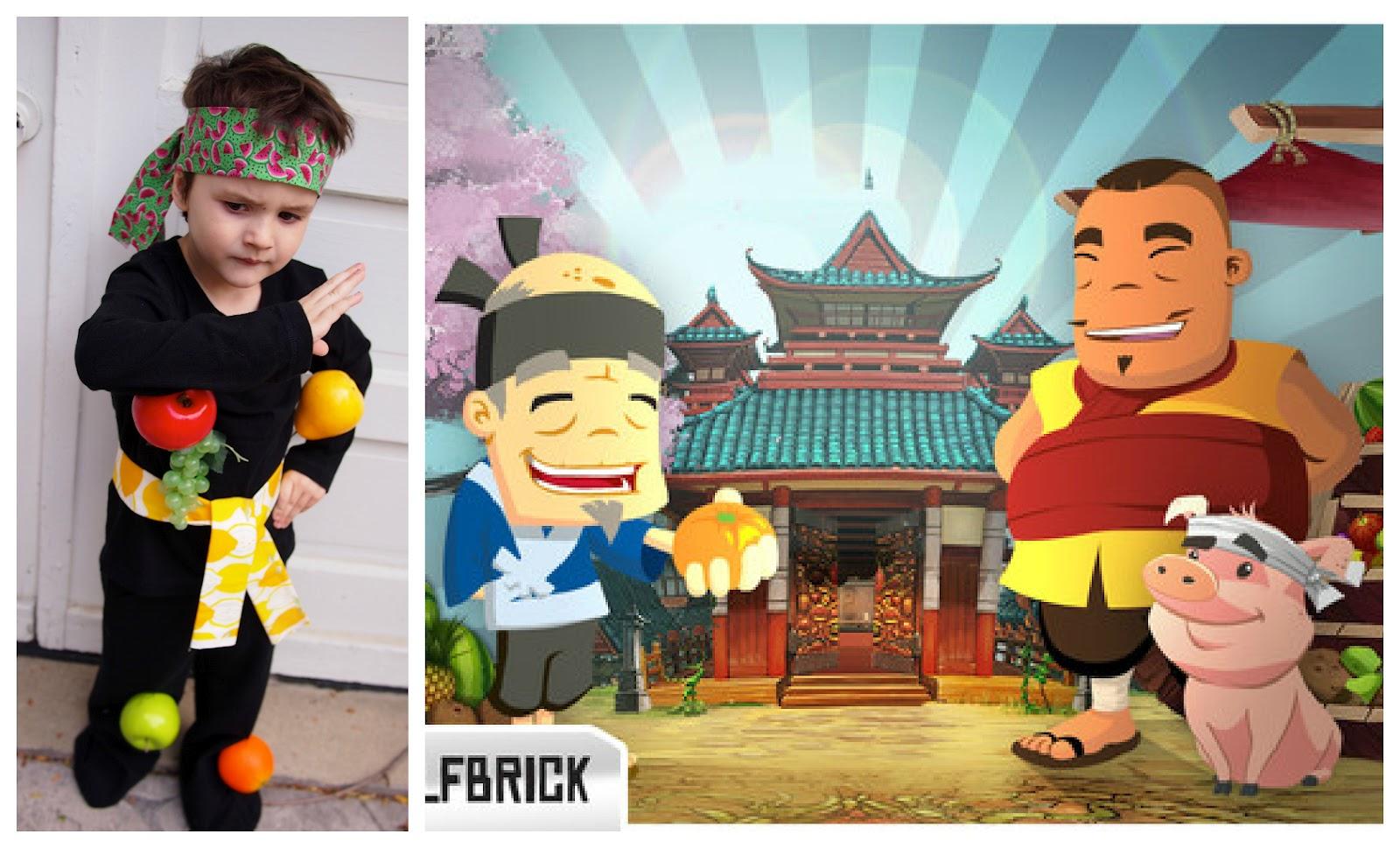 Fruit ninja 5 - Ninja Costume App Inspired Halloween Costumes Jetpack Joyride Fruit