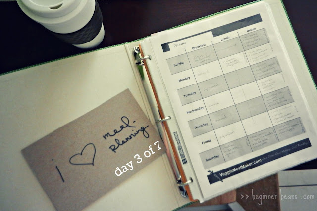monthly meal-planning, theme nights, pdf