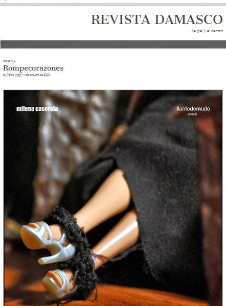 Reseña de Pablo Milani en Revista Damasco