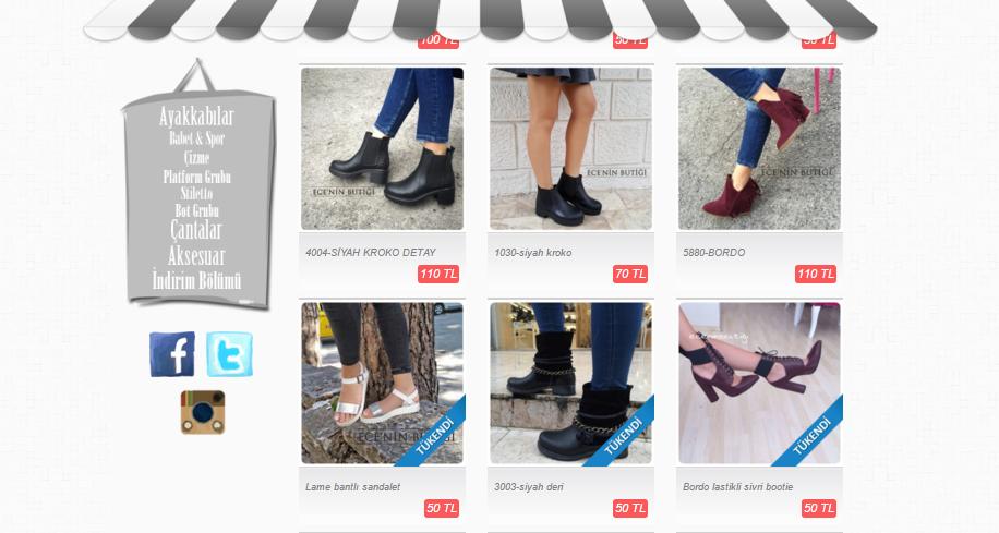 En Iyi Instagram Butikleri Ayakkabı Ceydacengiz