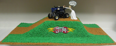 4-Wheeler Themed Groom's Cake 2