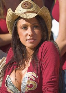 Jenn Sterger was an awesome FSU cowgirl.