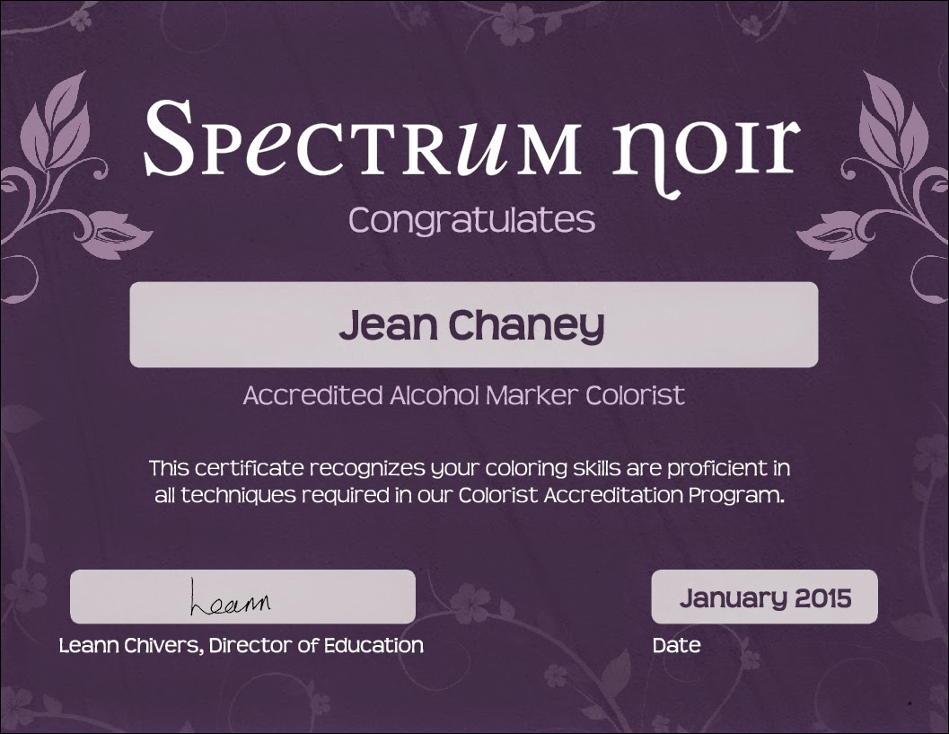 Accredited Spectrum Noir Colorist