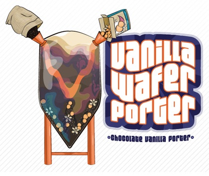 Image result for mobcraft vanilla wafer porter label