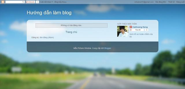 Hướng dẫn làm quen blog