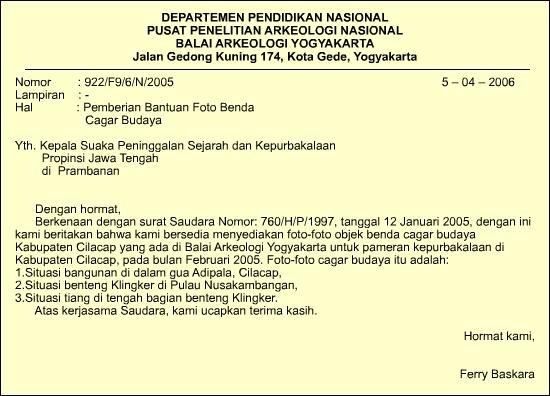 haryeszhaputra contoh surat dinas