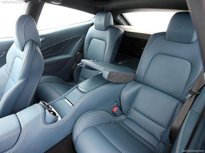 Auto Carz Zone 2012 Ferrari Ff Silver Interior And Comfortable Seats
