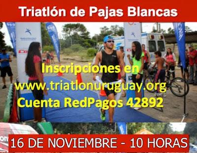 Triatlón de Pajas Blancas (Montevideo, 16/nov/2014)