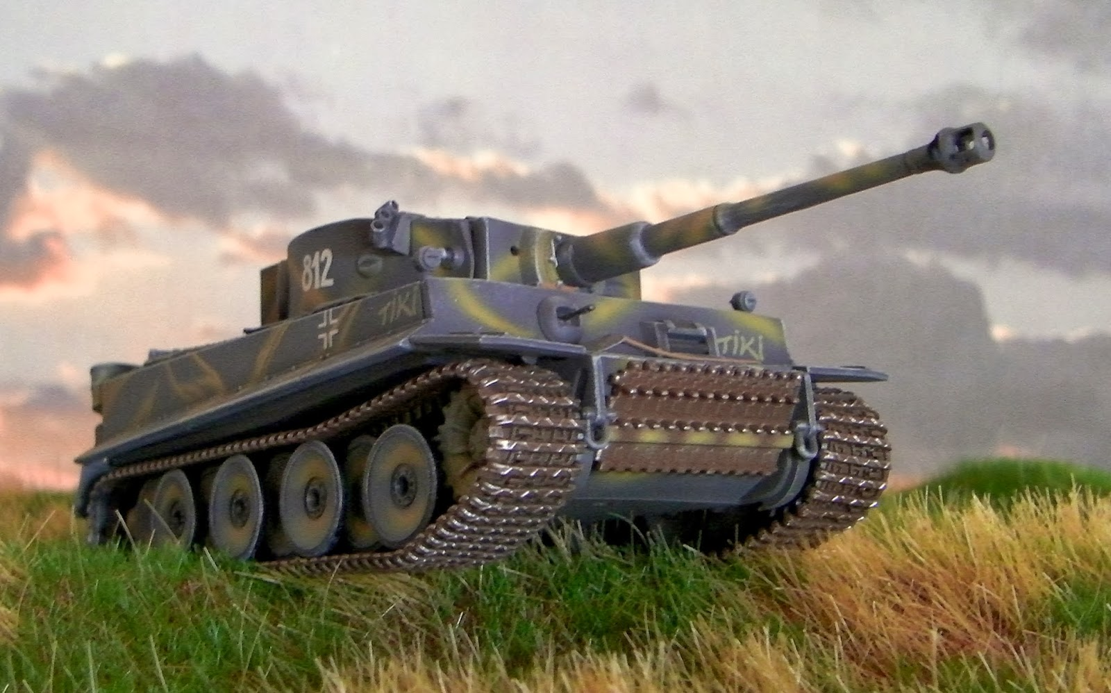 Panzer Sloped Armor Tiger I Quot Tiki Quot
