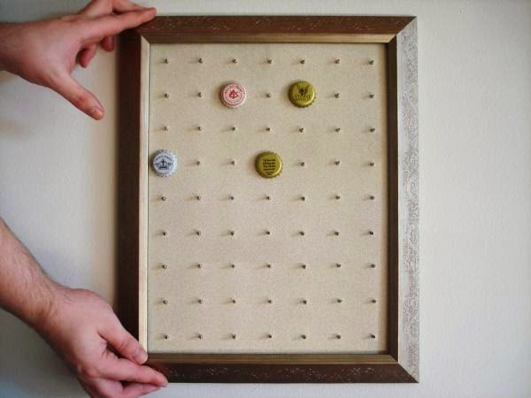 The Various Areas of My Expertise: How to Make a Beer Bottle Cap Display